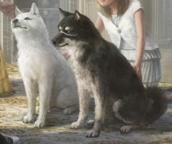 pryna is one of the two dogs that appear in final fantasy xv they