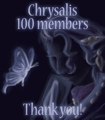 Thank you 100 members commemorative picture